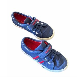 Nautica Toddler Edge View Canvas Casual Sneakers